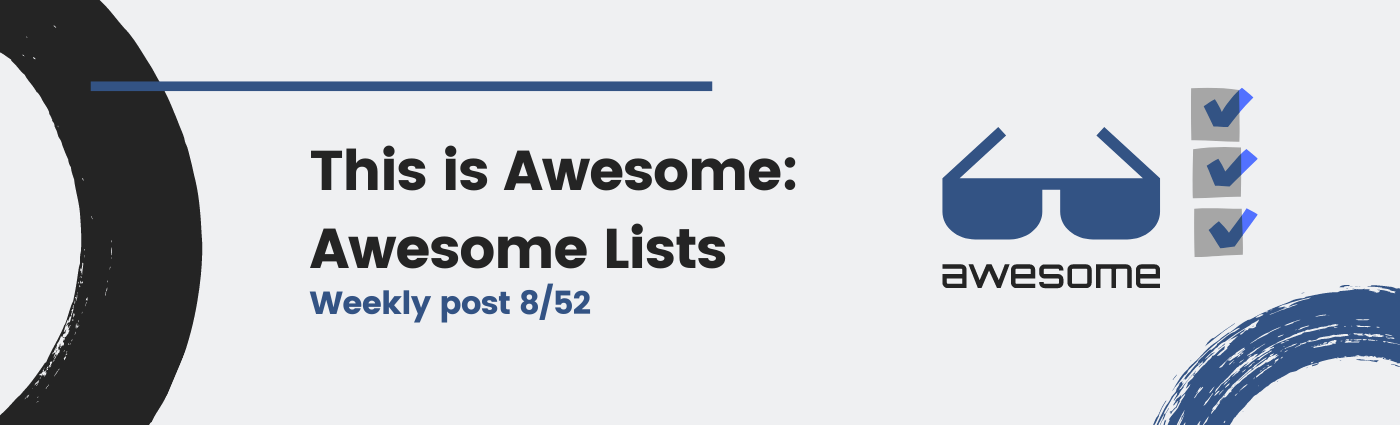 This is Awesome: Awesome Lists