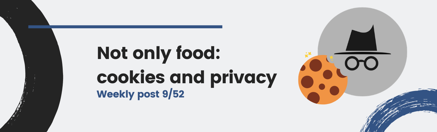Not only food: cookies and privacy