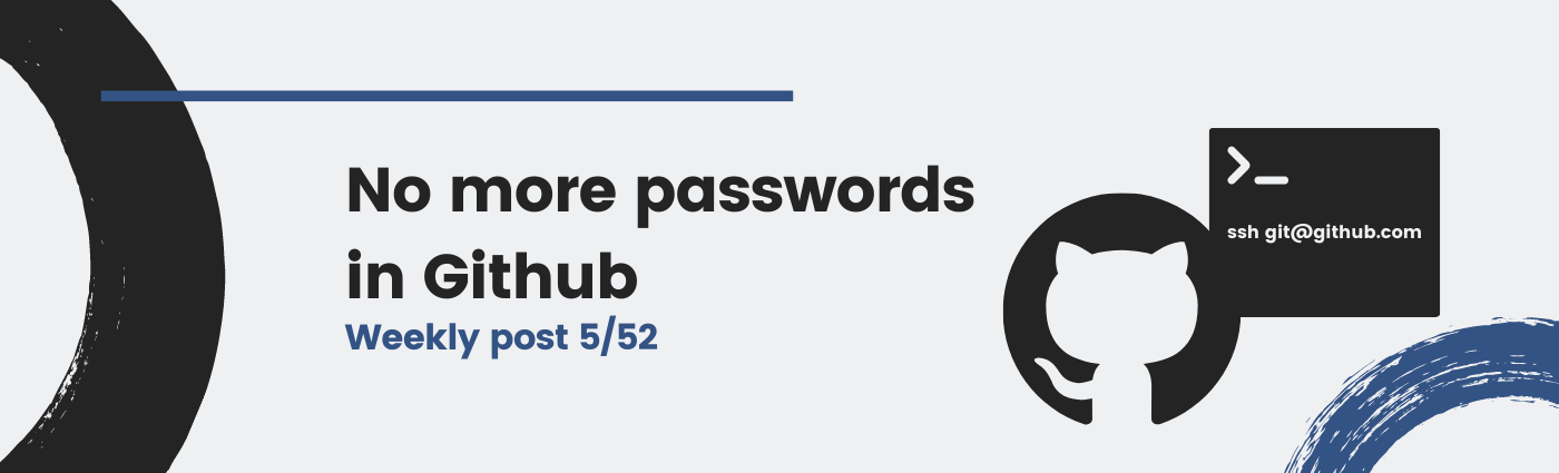 No more passwords in Github