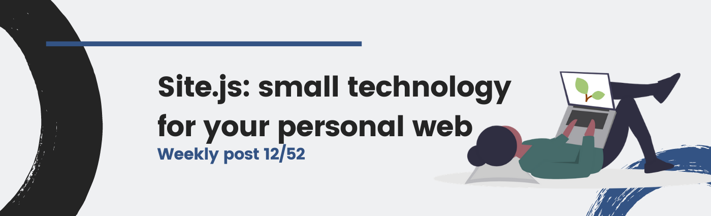Site.js: small technology for your personal web